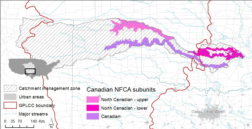 Upper Canadian River | Native Fish Conservation on